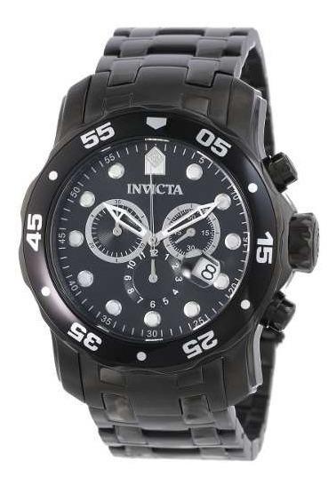 Relogio Invicta Pro Diver 0076 Preto Black Original