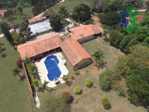 Chácara Com 7 Dormitórios À Venda, 5554 M² Por R$ 1.660.000,00 - Veraneio Irajá - Jacareí/sp - Ch0048