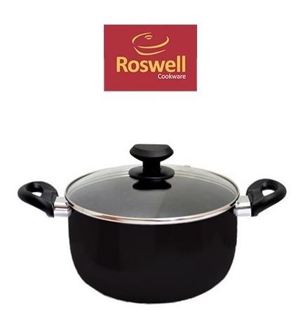 Cacerola N°20cm Roswell Classic Black Teflon Antiadherente