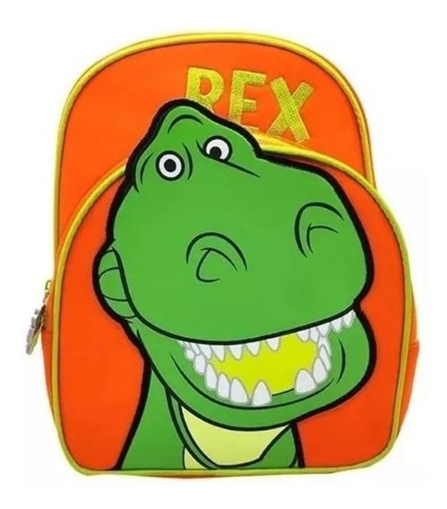 Mochila Espalda 12 Toy Story Rex Dinosaurio Para Jardin 30cm