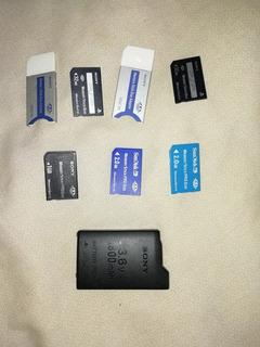 Memory Srick Duo + Bateria Psp Fat + Envio Gratis
