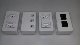 Kit Con 3 Porta Eqp 3 Blocos Dutotec Branco
