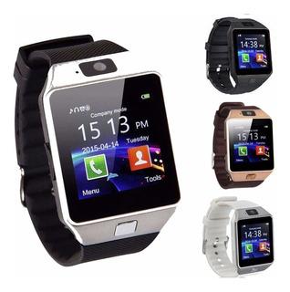 Reloj Smart Watch Dz09, Cámara, Chip, Sd, Whatsapp, Facebook