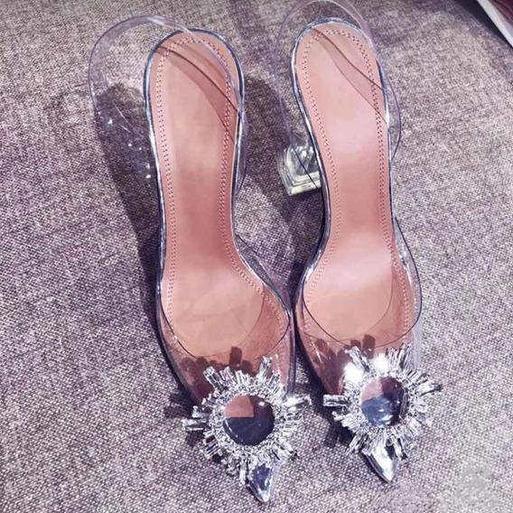 Zapato Elegante De Punta Estrecha