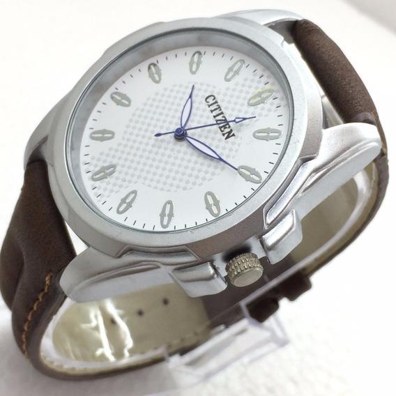 Relógio De Pulso M2426 Citizen Quartz 44mm Japão Miyota 2030