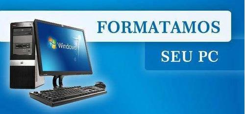 Imagem 1 de 3 de Formatação De Desktop Ou Notebook.