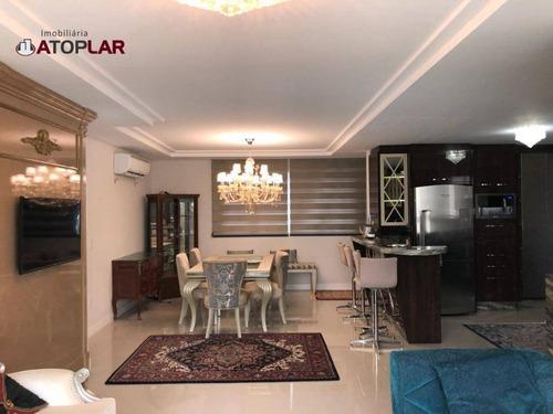 Apartamento À Venda, 121 M² Por R$ 1.299.500,00 - Centro - Balneário Camboriú/sc - Ap1486