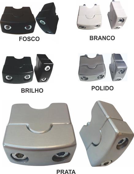 Alongador De Guidão 22mm - Preto / Branco / Prata / Polido