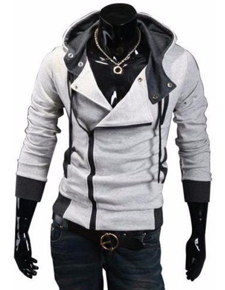 Jaqueta Moletom Assassins Creed Masculino Capuz 2019