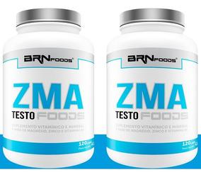 2x Pré Hormonal Testosterona Zma - 120 Caps - S/ Juros!
