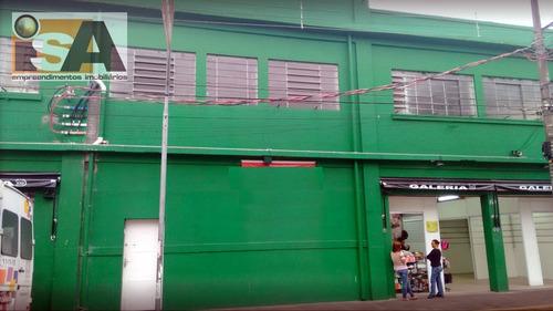 Salão / Galpão Em Centro - Suzano, Sp - 2727