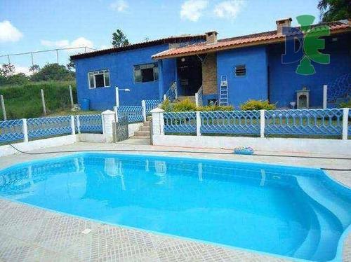 Chácara Com 2 Dormitórios À Venda, 20000 M² Por R$ 700.000,00 - Parateí Do Meio - Jacareí/sp - Ch0030