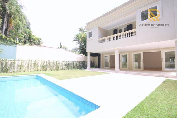 Casa Com 4 Dormitórios À Venda Por R$ 5.900.000 - Cidade Jardim - São Paulo - Ca0071