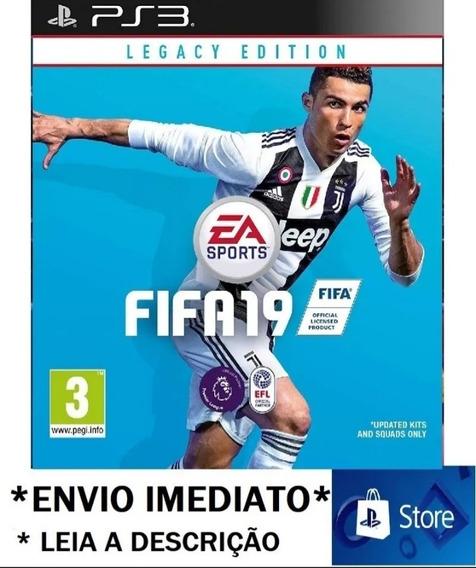 Fifa 2019 Ps3 Midia Digital Leia A Descrição+1 Jogo Escolhid