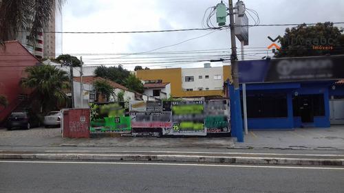 Imagem 1 de 3 de Terreno À Venda, 400 M² Por R$ 1.600.000,00 - Campestre - Santo André/sp - Te0107