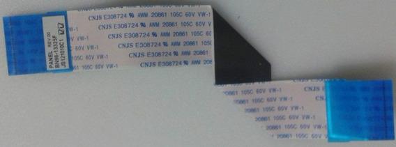 Cabo Flat Lvds Tv Samsung Pl51e450 Bn96-13325f Original!