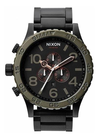 Relógio Vi1744 Nixon 51-30 Preto Lançamento 2019 C/ Caixa
