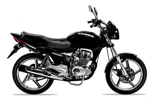 Yumbo Gs 200 Iii Calle Financia En 36 Cuotas Delcar Motos®