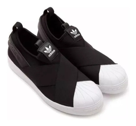 Promoção Tênis adidas Superstar Sleep On Preto Oferta