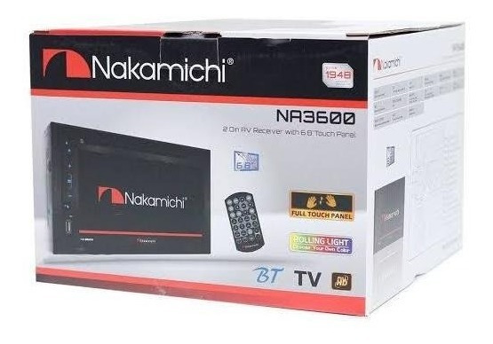 Central Multimidia Nakamishi Usb Bt Tv = Alpine Pioneer