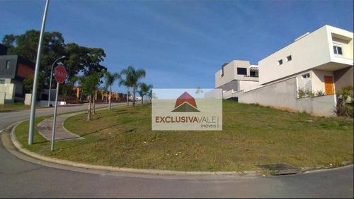 Imagem 1 de 5 de Terreno À Venda, 535 M² Por R$ 850.000,00 - Condomínio Residencial Alphaville I - São José Dos Campos/sp - Te0390