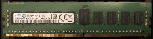 Imagem 1 de 1 de Memória Samsung 16gb 2133mhz Ecc Regist. M393a1g43db0-cpb0q