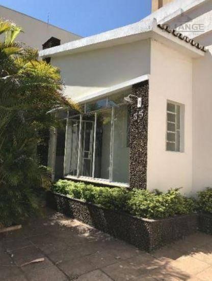 Casa Residencial À Venda, Vila Industrial, Campinas. - Ca11219