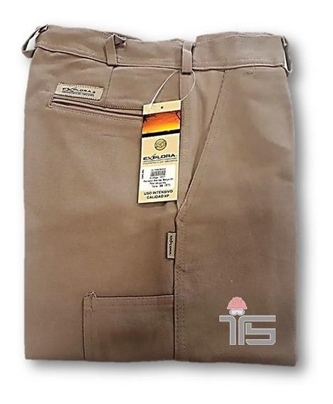 Pantalón De Trabajo Clásico Explora Varios Colores Y Talles
