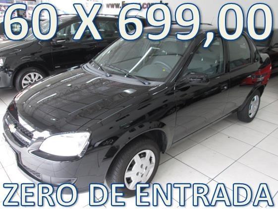 Chevrolet Classic Ls Completo Zero De Entrada + 60 X 699,00
