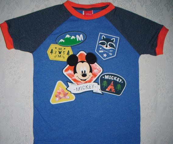 Playera Mickey Mouse Niño Talla 6