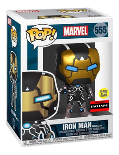 Funko Pop Marvel Iron Man Model 39 Glow In The Dark Exclusiv