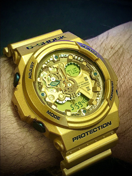 Relógio Casio G-shock Ga 300 Gd Dourado / Modulo Qw 5259