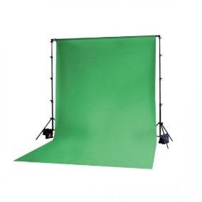 Fundo Fotográfico Tecido Verde Chroma Muslim Background 3x5m