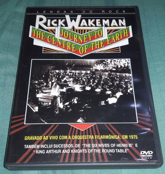 Dvd Rick Wakrman: Journey To The Centre Of The Earth Frete 6