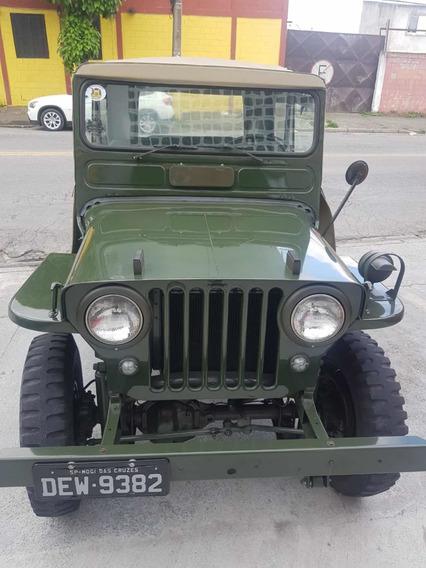Lindo Jeep Willys Verde Em Ótimo Estado Overland 1948