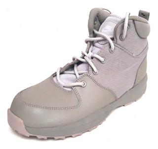 Mujer Botas Caminata Nike Air Manoa Piel Textil Verde Mil Ña