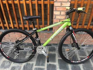 Bicicleta Enrique Explorer R27,5 Frenos Hidráulicos Talle S!
