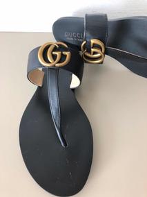 Sandália Rasteira Gucci