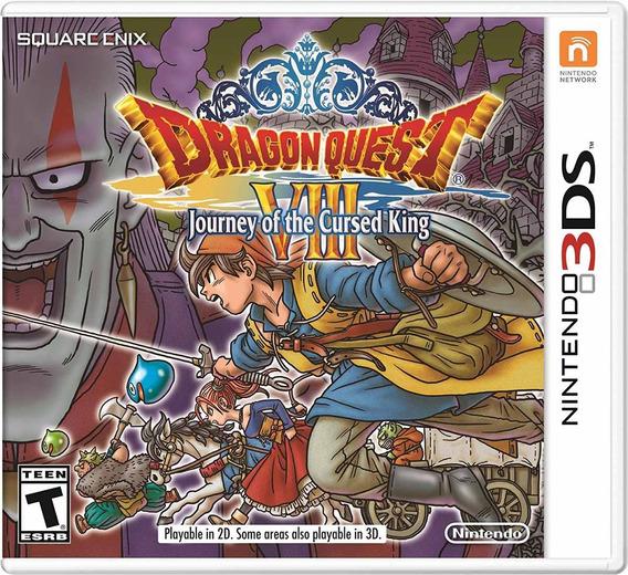 Dragon Quest Viii 8 Journey Cursed King! 3ds Código Digital