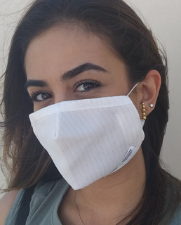 Máscara Respiratória Contra Patógenos Com Cobre 3par+1avulso