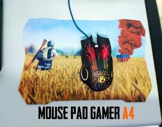 Mouse Pad Gamer A4 C/u