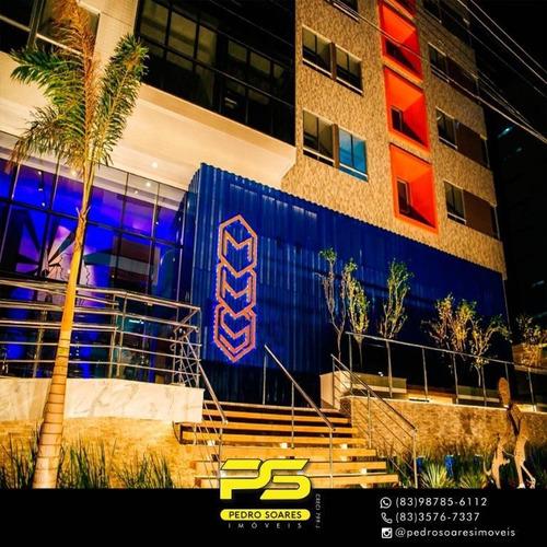 Apartamento Com 2 Dormitórios À Venda, 47 M² Por R$ 281.400 - Brisamar - João Pessoa/pb - Ap3144