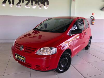 Volkswagen Fox 1.0 City Total Flex 3p 2007 Vermelho Lindinho