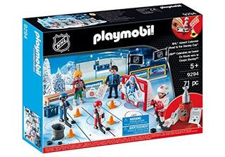 Playmobil Nhl, Advent, Calendar-road A La Taza De Juguete, M