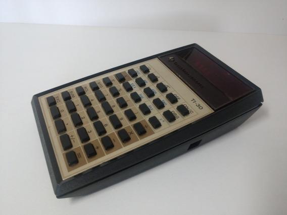 Calculadora Científica Texas Instruments Ti-30 Inoperante