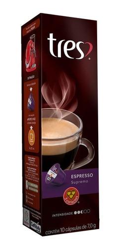Kit Com 30 Cápsulas De 8g - Cafés Expressos Supremo