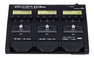 Zoom G3n Pedal Multiefectos Para Guitarra Eléctrica