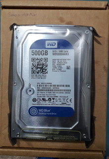 Hdd Disco Rigido Western Digital 500gb Sata3 Wd500aakx