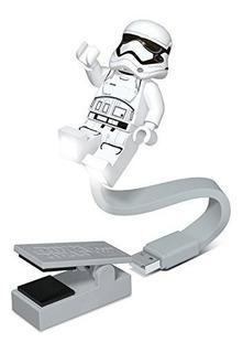 Star Wars First Order Stormtrooper Usb Booklite Clip De Lu