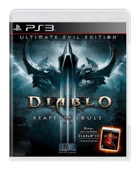 Diablo 3 Reaper Of Souls - Ps3 - Original - Usado